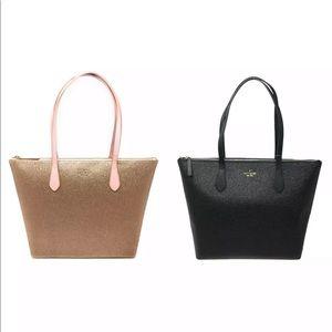 Kate Spade Joeley Glitter Large Tote Handbag cute